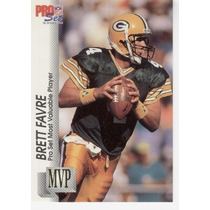 1992 Pro Set Gold Mvps Brett Favre Green Bay Packers