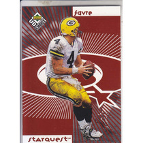 1998 Ud Choice Starquest Rook 3 Stars Red B Favre Holliday