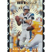 1996 Donruss Hit List Kerry Collins Qb Panthers /10000