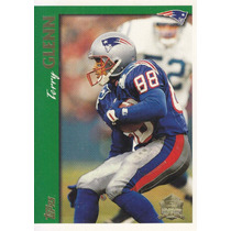 1997 Topps Minted In Canton Terry Glenn Wr Patriots