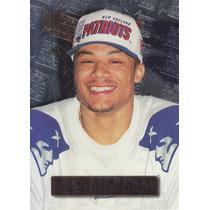 1996 Fleer Metal Rookie Terry Glenn Wr Patriots