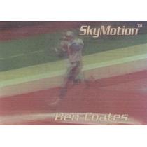 1996 Skybox Skymotion Ben Coates Te Patriots