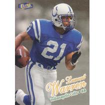 1998 Fleer Ultra Gold Medallion Lamont Warren Rb Colts