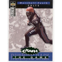 1994 Col Choice Crash The Game Marshall Faulk Rc Colts