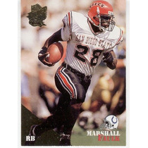 1994 Classic Gold Marshall Faulk Rc Indianapolis Colts