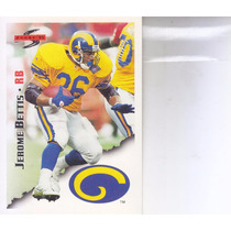 1995 Score Jerome Bettis Rb Rams