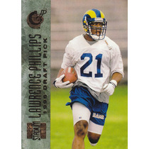1996 Stadium Club Rookie Lawrence Phillips Rb Rams