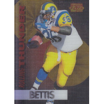 1995 Sport Flix Rolling Thunder Jerome Bettis Rb Rams