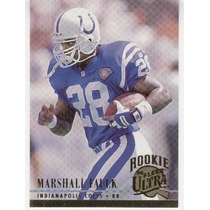 1994 Ultra Marshall Faulk Rc Indianapolis Colts