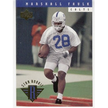 1994 Upper Deck Star Rookie Marshall Faulk Rookie Colts