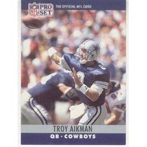 1990 Pro Set Troy Aikman Dallas Cowboys
