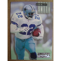 Emmitt Smith Card Sky Box Impact 1995 Ultimate Impact