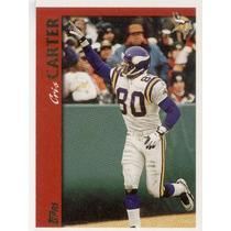 1997 Topps Cris Carter Minnesota Vikings Wr