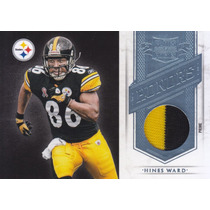 2011 Plates & Patches Honors Prime Jersey Hines Ward Wr /25