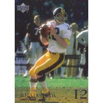 2001 Upper Deck Legends Terry Bradshaw Qb Steelers