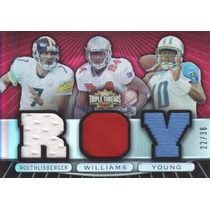 2007 3x Jersey Ben Roethlisberger Cadillac Vince Young /36