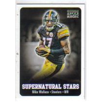 2012 Topps Magic Supernatural Stars #ssmw Mike Wallace