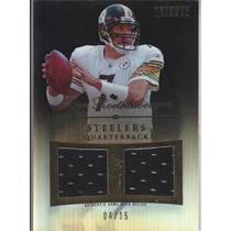 2010 Topps Tribute 2x Jersey Ben Roethlisberger /15 Steelers