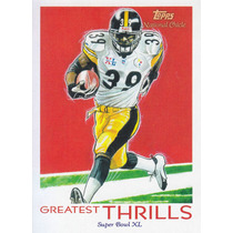 2009 Topps Chicle Greatest Thrills Willie Parker Rb Steelers