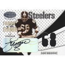 2004 Certified Jersey Autografo L.c. Greenwood /68 Steelers