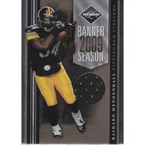 2010 Limited Bs Jersey Rashard Mendenhall 30/100 Rb Steelers