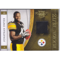 2010 Plates & Patches Jersey Rookie Jonathan Dwyer Rb /299