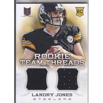2013 Momentum Rc Dual Jersey Landry Jones Qb Steelers /399