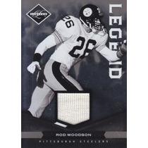 2011 Limited Legend Jersey Rod Woodson Cb Steelers 18/99