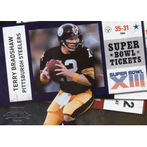 2010 Playoff Contenders Sb Tickets Terry Bradshaw Steelers