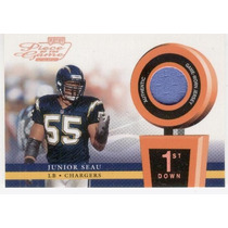 2002 Playoff Piece Of The Game Jersey Junior Seau Chargers