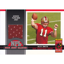 2005 Topps Total Tarjet Exclusive Jersey Rc Alex Smith 49ers