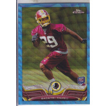 2013 Topps Chrome Blue Wave Refractor Rookie Bacarri Rambo