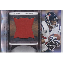 2008 Leaf Limited Jumbo Prime Jersey Andre Johnson Texs /10