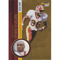 2001 Pacific Invincible Irving Fryar Wr Redskins /1000