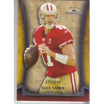 2011 Topps Five Star Extra Thick Alex Smith Qb 49ers /129