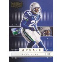 2001 Playoff Preferred Rookie Ken Lucas Cb Seahawks /1100