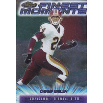 2000 Topps Finest Moments Champ Bailey Cb Redskins