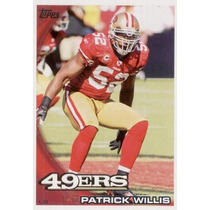 2010 Topps Patrick Willis San Francisco 49ers