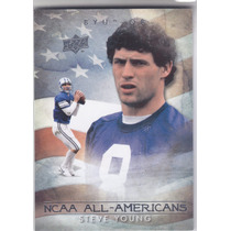 2011 Ud College Ncaa All Americans Steve Young Qb 49ers
