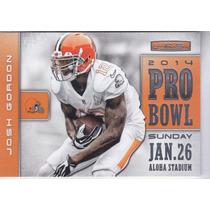 2014 Rookies & Stars Pro Bowl Josh Gordon Wr Browns