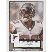 2006 Topps Heritage Justin Griffith Atlanta Falcons