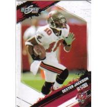 2009 Score #275 Dexter Jackson Bucaneros De Tampa Bay