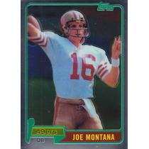 2010 Topps Chrome Anniversary Reprint Joe Montana Qb 49ers