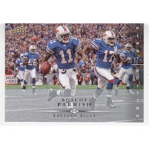 2008 Ud First Edition Roscoe Parrish Buffalo Bills