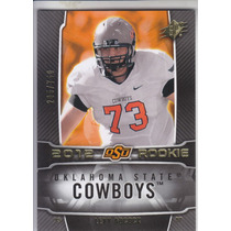 2012 Spx Rookie Levy Adcock Ot Oklahoma State Cowboys /750