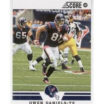 2012 Score Owen Daniels Houston Texans Te