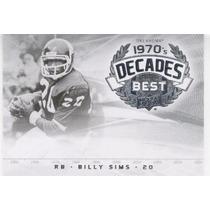 2011 Upper Deck College Legends Decades Best Billy Sims