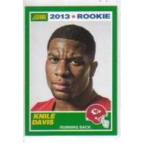 2013 Score #400 Knile Davis Rc Jefes De Kansas City