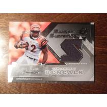 Rudi Johnson Tarj C Jsy Spx Swatch 2006 Bengals