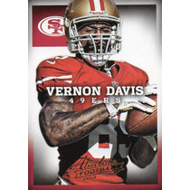 2013 Absolute Football Vernon Davis San Francisco 49ers